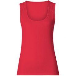 Odlo Koszulka damska Singlet crew neck CUBIC - 140631 - 140631S. Czerwone t-shirty damskie Odlo, s. Za 99,95 zł.