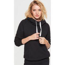Odzież: Bluza kangurka - Czarny