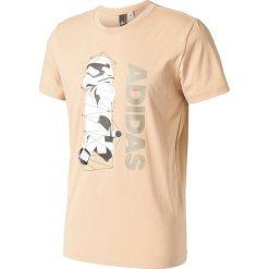 T-shirty męskie: Adidas Koszulka Stormtrooper beżowa r. S (BK2841)