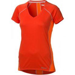 Bluzki sportowe damskie: Marmot Koszulka Wm's Zeal Ss Coral Sunset/Br. Orange Xs