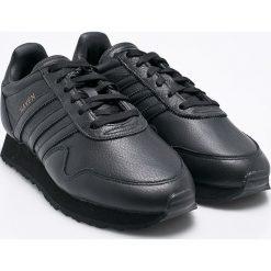 Adidas Originals - Buty Haven. Czarne halówki męskie adidas Originals, z materiału, na sznurówki. W wyprzedaży za 479,90 zł.