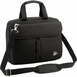 """Sumdex PON-315BK 15""""-16"""" czarna. Czarne torby na laptopa Sumdex, w paski. Za 89,00 zł."""