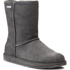 Buty EMU AUSTRALIA - Paterson Lo W10771 Charcoal. Szare buty zimowe damskie EMU Australia, z gumy. W wyprzedaży za 519,00 zł.