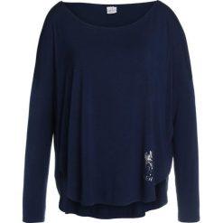 Deha Bluzka z długim rękawem dark blue. Niebieskie topy sportowe damskie Deha, xl, z elastanu, sportowe, z długim rękawem. Za 249,00 zł.