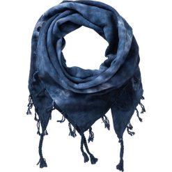 Chusta batikowa bonprix niebieski. Niebieskie chusty damskie bonprix. Za 54,99 zł.
