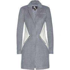 Płaszcz żakietowy bonprix szary melanż - biel wełny. Białe płaszcze damskie wełniane bonprix, melanż. Za 169,99 zł.