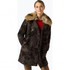 Camel Active - Płaszcz damski, zielony. Brązowe płaszcze damskie marki Camel Active, moro, eleganckie. Za 899,95 zł.