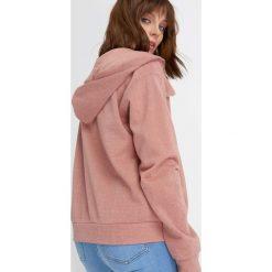 Bluzy rozpinane damskie: Rozpinana bluza z kapturem