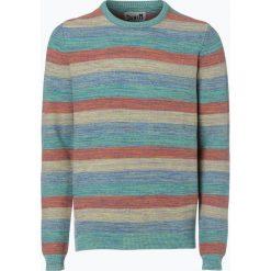 Swetry męskie: DENIM by Nils Sundström – Sweter męski, biały