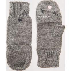 Rękawiczki typu mitenki - Jasny szar. Brązowe rękawiczki damskie marki Roeckl. Za 35,99 zł.