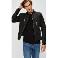 Diesel - Kurtka. Czarne kurtki męskie przejściowe Diesel, l, z materiału. W wyprzedaży za 849,90 zł.