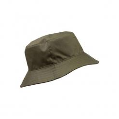Kapelusz myśliwski. Brązowe kapelusze damskie marki SOLOGNAC, z bawełny. Za 39,99 zł.