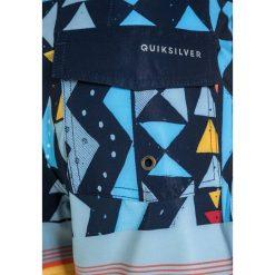 Quiksilver VEE  Szorty kąpielowe navy blazer. Szare kąpielówki chłopięce marki Quiksilver, krótkie. W wyprzedaży za 139,30 zł.