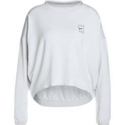 Nike Performance DRY Bluza vast grey/black. Szare topy sportowe damskie marki Nike Performance, xl, z elastanu. W wyprzedaży za 179,25 zł.