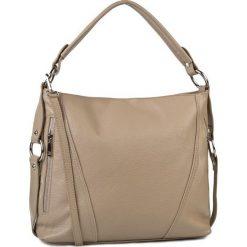Torebka CREOLE - RBI1179 Ciemny Beż. Brązowe torebki klasyczne damskie Creole, ze skóry. W wyprzedaży za 209,00 zł.