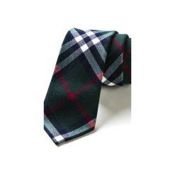 Krawat męski  PINTO. Niebieskie krawaty męskie HisOutfit, z materiału. Za 129,00 zł.