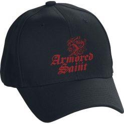 Czapki damskie: Armored Saint Logo Red Czapka baseballowa czarny
