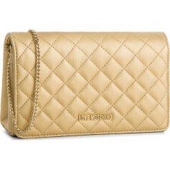 Torebka LOVE MOSCHINO - JC4095PP16LO0901  Oro. Żółte torebki klasyczne damskie marki Love Moschino, ze skóry ekologicznej. Za 479,00 zł.