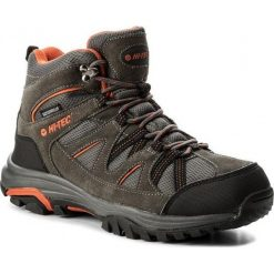 Buty trekkingowe męskie: Hi-tec Buty Męskie Raposo Mid Wp Dark Grey/Orange/Light Grey r. 44 (AVSAW17-HT-01)