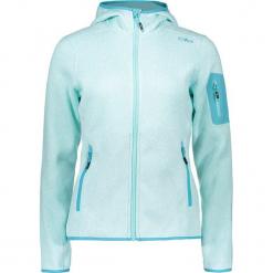 Kurtka polarowa w kolorze błękitnym. Niebieskie kurtki damskie marki CMP Women, z dzianiny. W wyprzedaży za 172,95 zł.