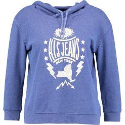 Bluzy rozpinane damskie: H.I.S Bluza z kapturem twilight blue