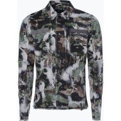 Koszule męskie na spinki: Tigha – Koszula męska – Crane, zielony