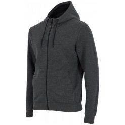 4F Męska Bluza H4Z17 blm002 Ciemny Szary Melanż M. Szare bluzy męskie rozpinane 4f, m, melanż, z bawełny. W wyprzedaży za 89,00 zł.