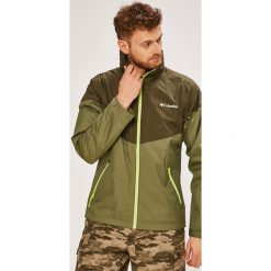 Columbia - Kurtka Inner Limits. Szare kurtki męskie przeciwdeszczowe marki Columbia, z dzianiny. W wyprzedaży za 299,90 zł.