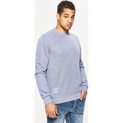 Odzież męska: Gładka bluza regular - Niebieski