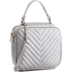 Torebka CREOLE - K10532  Srebro Argento. Szare torebki klasyczne damskie Creole, ze skóry. W wyprzedaży za 179,00 zł.