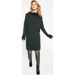 Medicine - Sweter Dark Bloom. Szare golfy damskie marki MEDICINE, l, z dzianiny. W wyprzedaży za 79,90 zł.