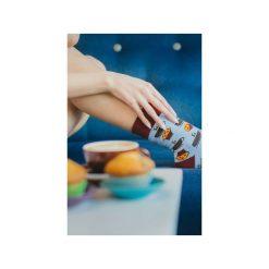 Kawa i muffinki - kolorowe skarpetki Spox Sox. Niebieskie skarpetki męskie marki Spox sox, w kolorowe wzory. Za 20,00 zł.