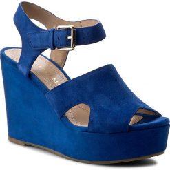 Rzymianki damskie: Sandały BRUNO PREMI – Camoscio K5201P  Bluette