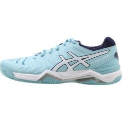 Buty trekkingowe damskie: ASICS GELCHALLENGER 11 CLAY Obuwie do tenisa Outdoor porcelain blue/white/indigo blue