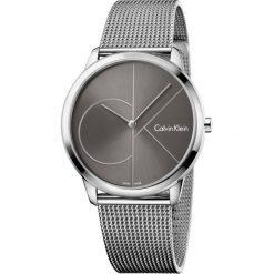 ZEGAREK CALVIN KLEIN MINIMAL K3M21123. Szare zegarki męskie marki Calvin Klein, szklane. Za 849,00 zł.