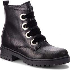 Trapery TOMMY JEANS - Metallic Cleated Lac EN0EN00339 Black 990. Czarne buty zimowe damskie Tommy Jeans, z jeansu. Za 649,00 zł.