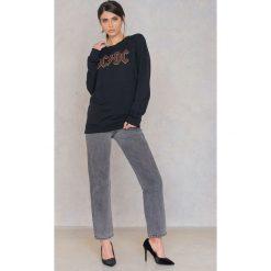 Bluzy rozpinane damskie: Amplified Bluza ACDC Logo - Black