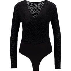 Bluzki asymetryczne: Bardot LEOPARD Bluzka z długim rękawem black