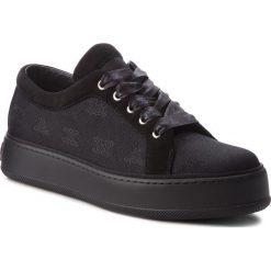 Sneakersy MAXMARA - MM90 45267387600 Nero 004. Czarne sneakersy damskie MaxMara, z materiału. W wyprzedaży za 1309,00 zł.
