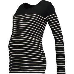 Bluzki asymetryczne: JoJo Maman Bébé BRETON Bluzka z długim rękawem black/ecru