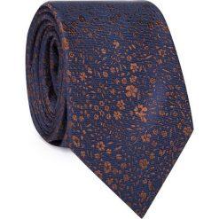 Jedwabny krawat KWGR000297. Szare krawaty męskie marki Reserved, w paski. Za 129,00 zł.