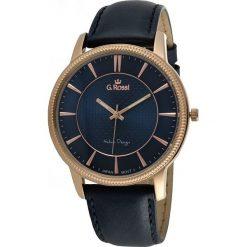 Zegarki męskie: Zegarek Gino Rossi męski Brenton czarny (10077A-6F3)