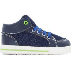 Wysokie buty sportowe 19-25. Niebieskie buty sportowe chłopięce La Redoute Collections, z materiału. Za 102,86 zł.