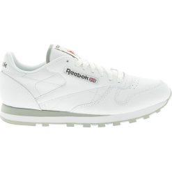 Reebok - Buty CL LTHR. Brązowe buty skate męskie Reebok, z gumy. Za 329,90 zł.