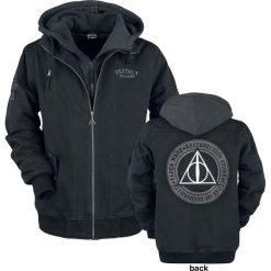 Harry Potter The Deathly Hallows Kurtka zimowa czarny. Czarne kurtki męskie bomber Harry Potter, na zimę, m. Za 399,90 zł.