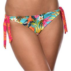 Bikini: Dwustronny dół stroju kąpielowego w kwiaty/paski