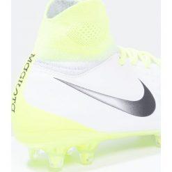 Buty sportowe chłopięce: Nike Performance MAGISTA OBRA II FG Korki Lanki white/black/volt/pure platinum