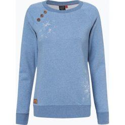 Ragwear - Damska bluza nierozpinana – Daria, niebieski. Niebieskie bluzy rozpinane damskie marki Ragwear, l, z nadrukiem. Za 219,95 zł.