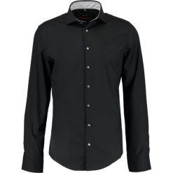 Koszule męskie na spinki: Seidensticker SLIM FIT SPREAD KENT PATCH Koszula biznesowa schwarz