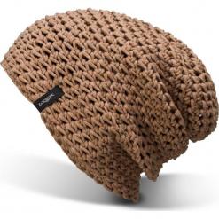 Czapka Krasnal Unisex |Handmade| Brązowa Frigus Beanie Camel - Frigus Beanie Camel  -. Brązowe czapki zimowe damskie Woox. Za 83,97 zł.